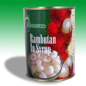 Canned rambutant in light/heavy syrup