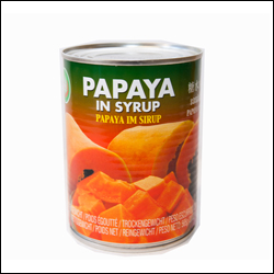 Red Papaya in light syrup